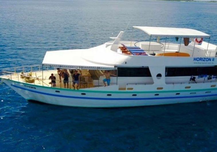 Blue Horizon II surf charter Maldives