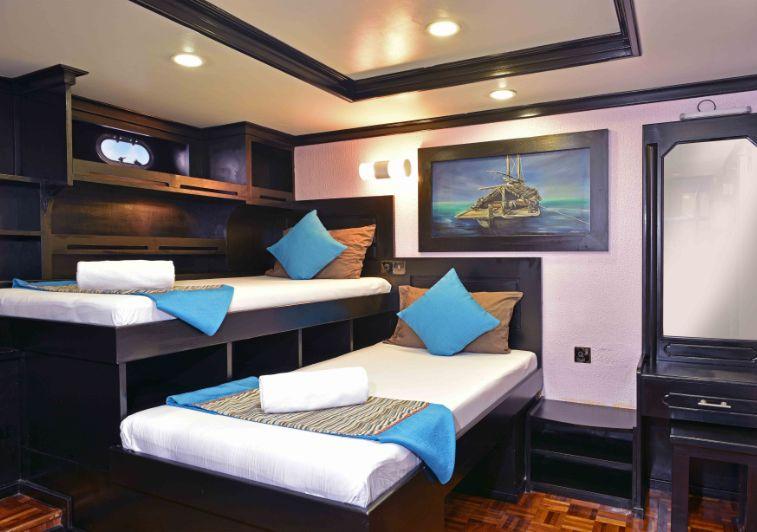 Blue Horizon III surf charter Maldives