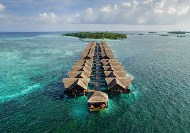 Hudhuranfushi surf resort Maldives