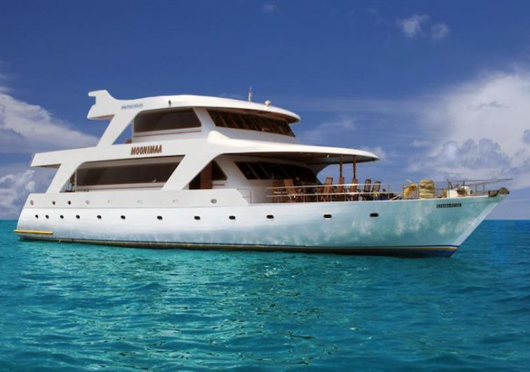 Moonima Surf charter boat Maldives
