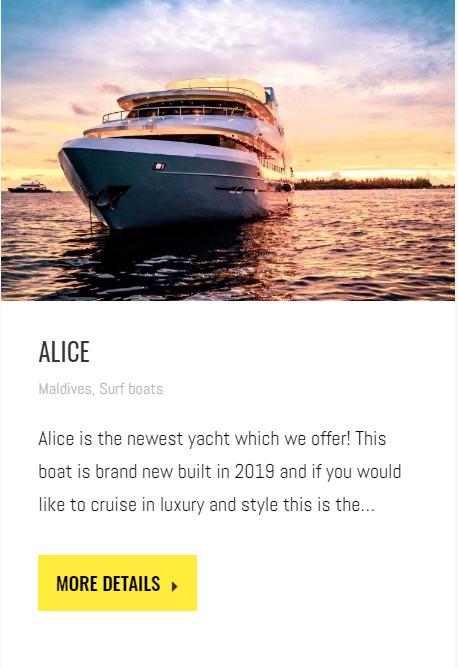 Alice Surf Boat Maldives